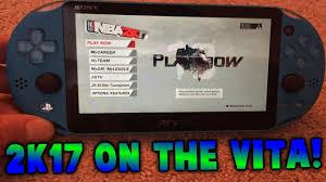 ps vita black friday 2017 playing nba 2k17 on my ps vita insane gameplay youtube