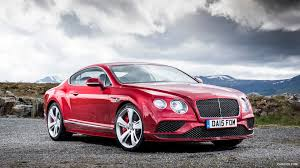 2016 Bentley Continental Gt Speed Coupe Candy Red Front Hd