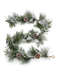 decor enchanting pre lit garland for decoration ideas
