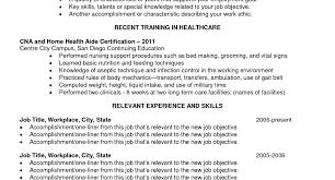 sample resume for cna job resume objective for cna job resume objective statement examples