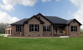 one story home one story brick homes raleigh transitional exterior raleigh