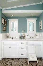 bathroom furniture oak wood distressed white wall mounted rattan