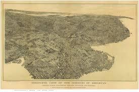 Map Of Brooklyn Ny Bird U0027s Eye Views Of Brooklyn New York City