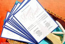 wedding phlets wedding programs krystals wedding invitations ceremony reception