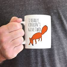 Fox Mug by I Really Couldn U0027t Give Two Fox Ceramic Mug By Parkins Interiors