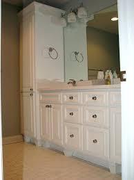 Bathroom Linen Shelves Bathroom Linen Cabinet Simpletask Club