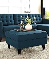 Light Blue Tufted Ottoman Blue Ottoman Coffee Table Blue Ottoman Coffee Table Navy Blue
