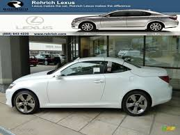 lexus is 250 convertible 2017 2011 starfire white pearl lexus is 250c convertible 53463540