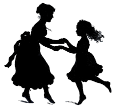 happy dance emoji mother and daughter hug png transparent png images pluspng