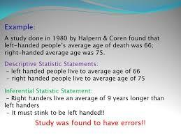 swbat define statistics distinguish between a population and