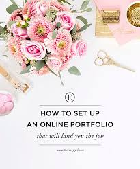 Online Portfolio Resume by How To Set Up An Online Portfolio That Will Land You The Job