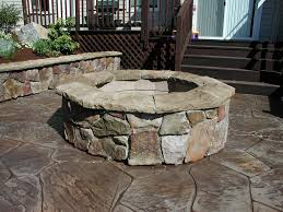 Stone Fire Pit Kit by Stone Fire Pit Kit Courtagerivegauche Com