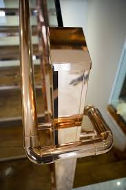 Brass Handrails 30 Stylish Staircase Handrail Ideas To Get Inspired Digsdigs