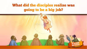 the ascension and pentecost kids bible story kids bible stories