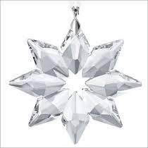 swarovski crystal christmas ornament