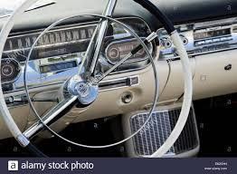 1950s cadillac dashboard and interior abstract classic american
