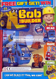 bob builder magazine subscription buy newsstand uk