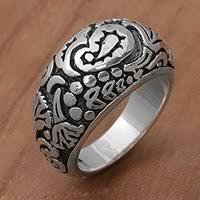 domed ring sterling silver domed rings silver rings at novica