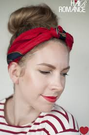 top knot headband 5 ways to wear a scarf and a top knot 3 knot headband hair