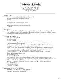 printable resume exles 12 top resume sles exles for teachers with experience