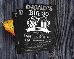 30th birthday invitations for him invitation templates