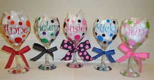 how to personalize a wine glass personalized wine glasses name monogram or initial by avasavenue