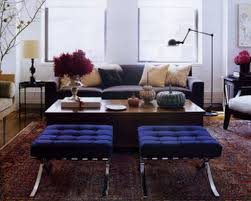 Accent Chair Modern Modern And Traditional Interior With Classic Table From Wood Feat