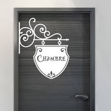 pr駭om porte chambre stickers pr駭om porte chambre 28 images custom door decal