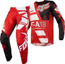 fox motocross clothing uk 2018 fox 180 sayak motocross gear red 1stmx co uk