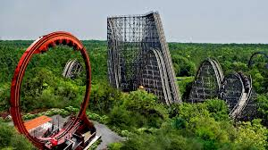 Is There A Six Flags In Pennsylvania Looping Dragon Roller Coaster Teaser Video Six Flags Great