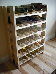 Easy Wood Shelf Plans by Best 25 Wine Rack Plans Ideas On Pinterest Wine Rack Diy