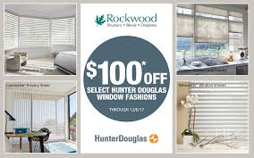 Shades Shutters Blinds Coupon Code What U0027s New Rockwood Shutters Blinds And Draperies