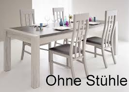 Esszimmertisch Tisch Esszimmertisch Marten 8 Grau Steinoptik 180x90x78cm Esstisch Tisch