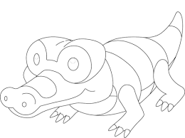 sandile pokemon coloring free printable coloring pages