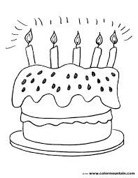 crazy free cake coloring create a printout or activity