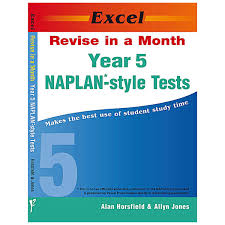year 5 naplan style tests revise in a month big w