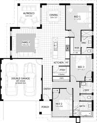 2 Storey 3 Bedroom House Floor Plan by Bedroom Townhouse Plans With Design Ideas 1110 Fujizaki