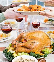 the thanksgiving dinner diet bust how the average american will