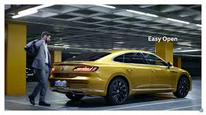 volkswagen arteon first vw arteon promo video has us wanting more