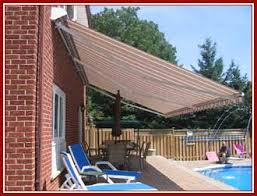 Awning Toronto Nushade Retractable Patio Awning Roll Out Patio Awnings Product