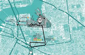Map Of New York Subway With Streets by Brooklyn Navy Yard Will Get Free Shuttle To 13 Subway Lines