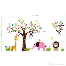 kindergarten wall murals online wall murals for kindergarten for extra large animals paradise wall art mural poster decor children s park kindergarten wall decoration decal sticker kids room decor
