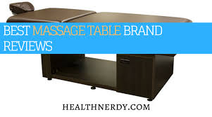 best heated massage table best massage table reviews 2018 field tested portable