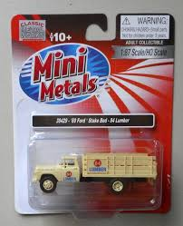 84 lumber 1960 stake bed truck classic metal works 1 87 diecast
