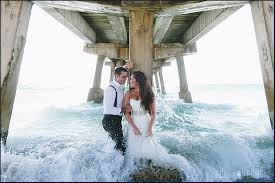 trash the dress rock the dress wedding photographers in miami award winning