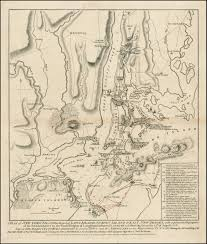New York Islands Map by The British Take New York The