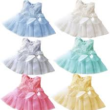 4 18 months toddler baptism dress costumes baby princess