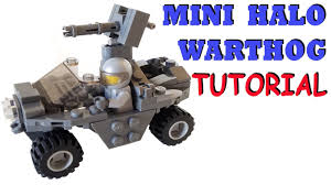 halo warthog mini lego halo unsc warthog with building instructions