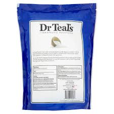 dr teal u0027s pure epsom salt therapeutic soak 7 2 lbs walmart com