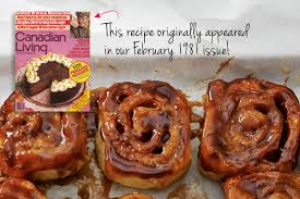 cinnamon buns canadian living